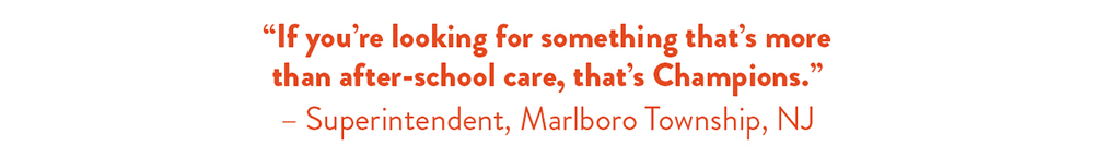 More than after-school care
